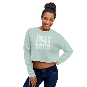 Just Soca - Ladies Crop Sweatshirt