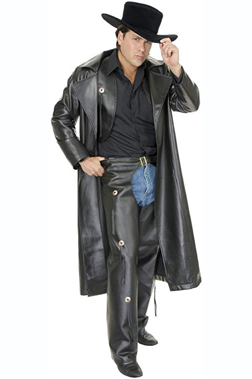 Long Leather Duster