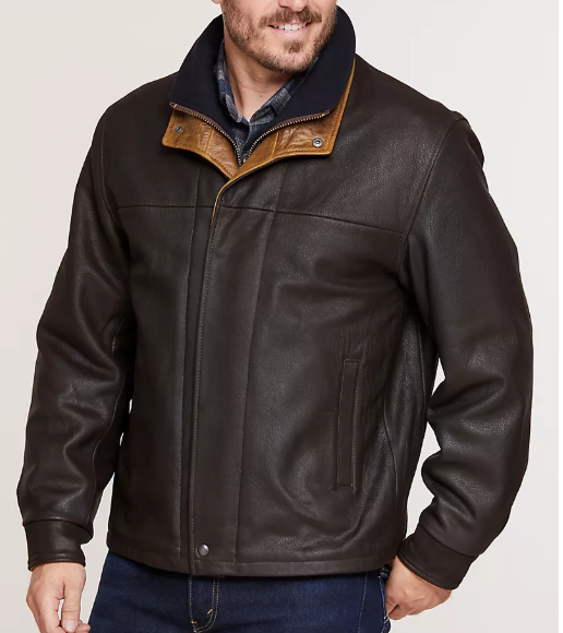 Romano Lambskin Leather Jacket