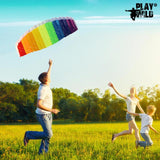 Flying a Kite with Kids