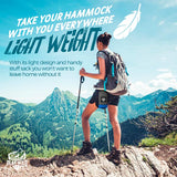Hiking Hammock - Lightweight with hammock straps