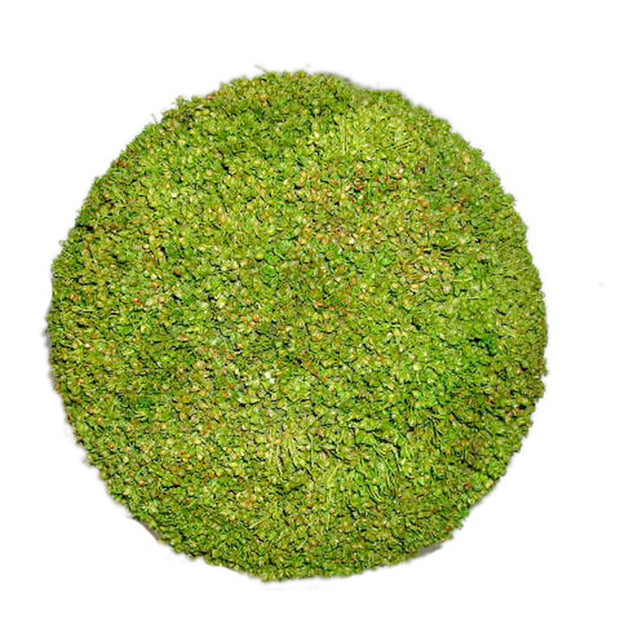 "Holiday Sphere - Moss 8"" min 6 - $6.00"