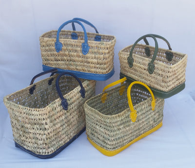 Boathouse Catch All Colorful Baskets - S/4