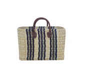 2 for 1! - Como Blue Stripe Basket Set/2 - $39.00