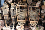 "A Mudroom Special - Children's Vintage Snow Shoes - 31"" Now. $215"