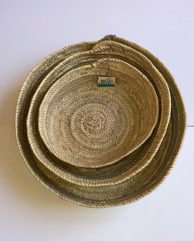 Boathouse Round Picnice Trays - s/3 - Just Arrived!
