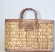 Edinburgh Classic  Basket Tote - Medium