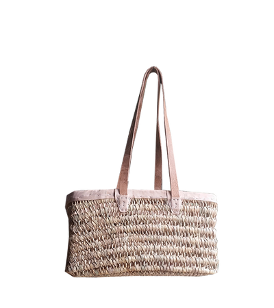Boathouse Gathering Basket - Medium w/ Shoulder Straps