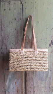Boathouse Gathering Basket - Small w/ Shoulder Straps