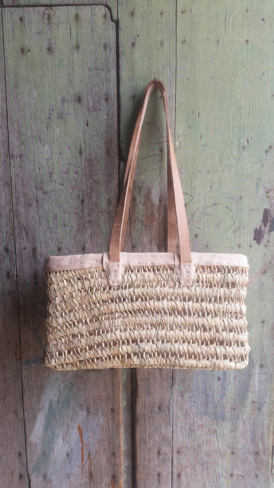 Leith  Basket - Small w/ Shoulder Straps