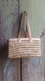 Boathouse Gathering  Basket - Large w/ Shoulder Strap