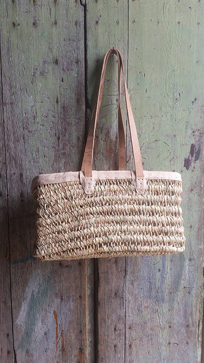 Leith  Basket - Large w/ Shoulder Strap