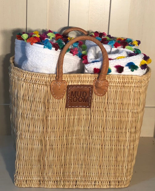 2 for 1 - Storage Baskets - Laundry/Kindling/Toys Plus Free Straw Deer Hooks - $59.00