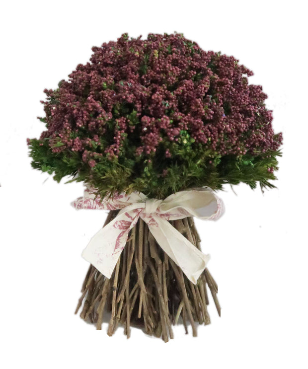 Hollyrood Ribbon Bouquet - Burgundy