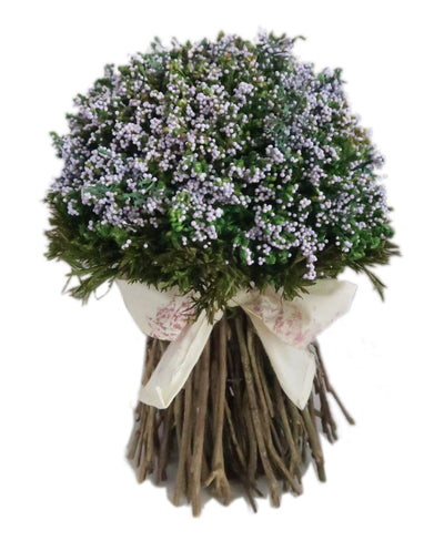 Holyrood Ribbon Bouquet  - Purple