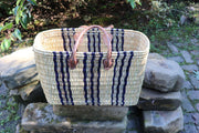Como Blue Stripe Basket Set/2 - $49.00