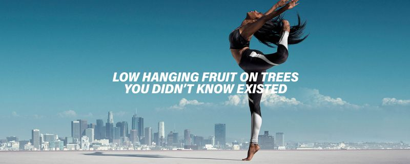 Low hanging fruit on trees you didn't know existed