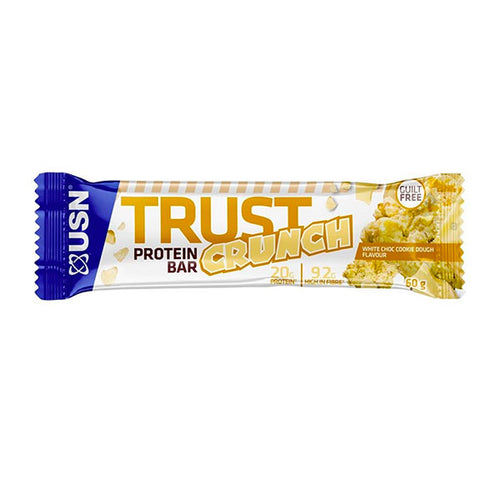 USN White Chocolate Cookie Dough Bars - 12 x 60g