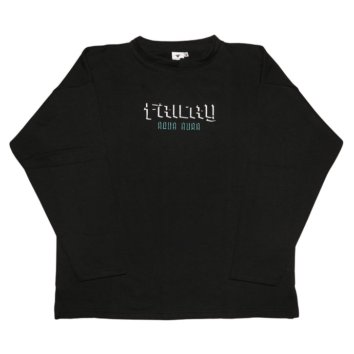 Aqua Aura Black Sweat