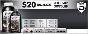 S20 BLACK Real 1-Step Compound