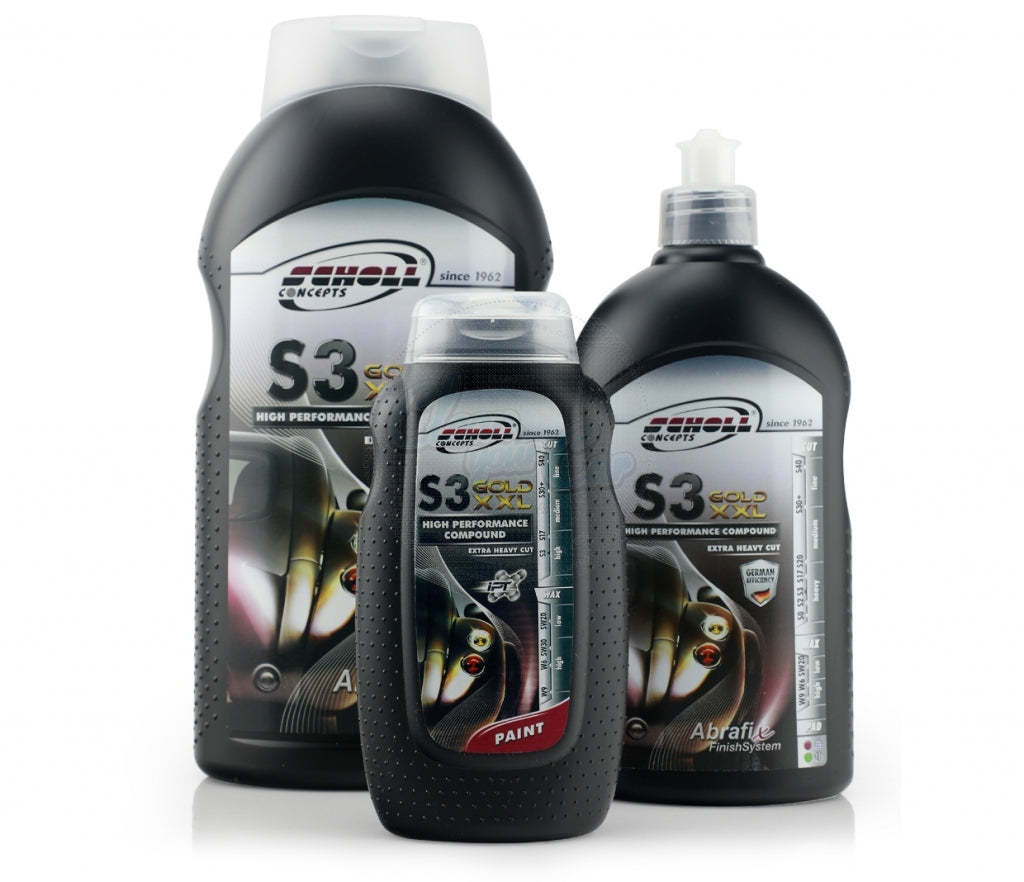 S3 GOLD XXL Rubbing Compound
