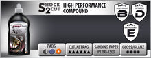 Shock 2 Cut High performance Rubbing Compound NEW!