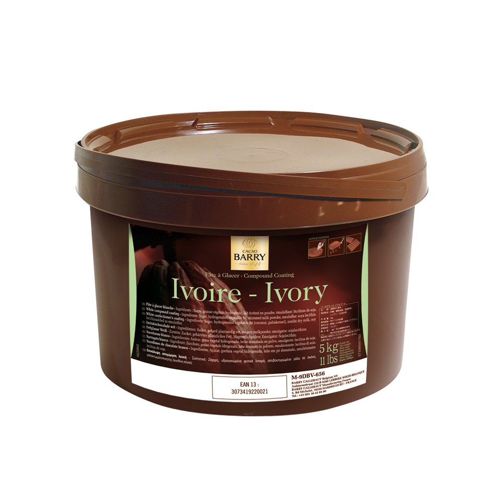 Cacao Barry Pate A Glacer Ivoire - Compound Coating White
