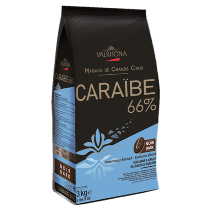 Valrhona Caraibe Dark Chocolate 66%