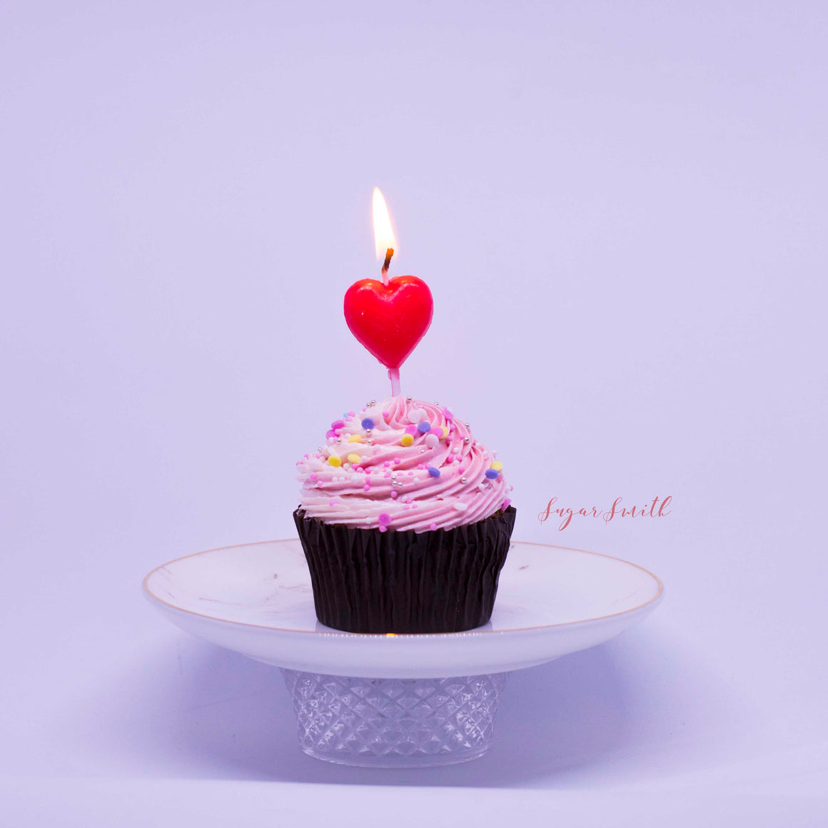 Sugar Smith Inc - Birthday Candle (Heart)