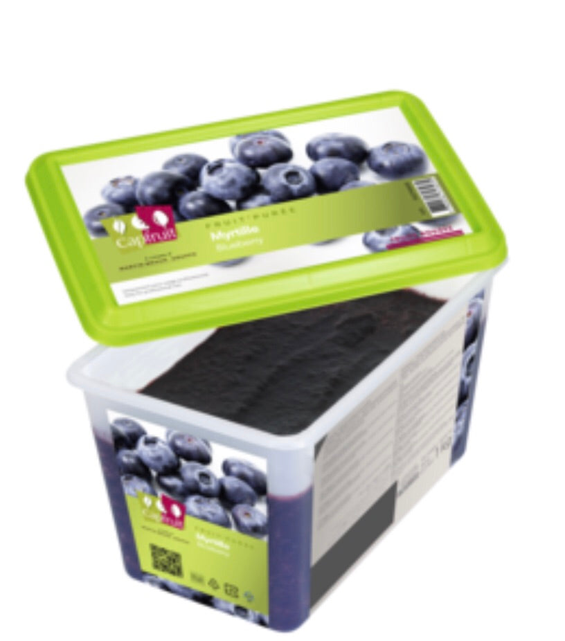 Capfruit puree - Blueberry (1kg)