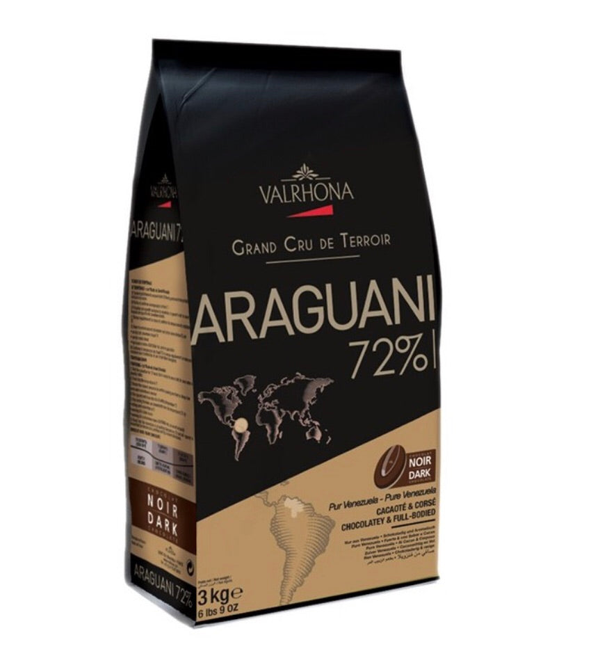 Valrhona - Araguani Dark Chocolate 72%
