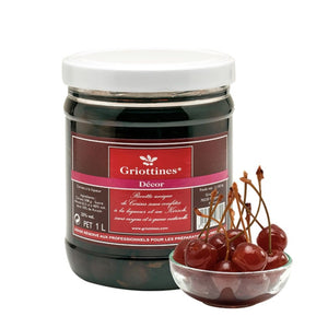 Griottines Decor - Morello Cherries (25%)