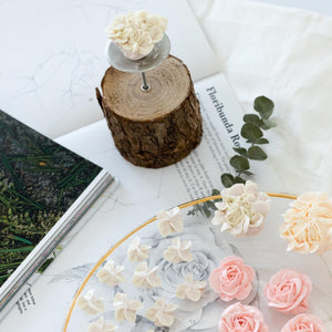 Sugar Smith Inc - Korea Buttercream Flower Wooden Block (Log) [Sale]