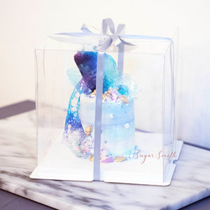 Sugar Smith Inc - Clear Cake Box - Tall (25 x 25 x 25cm)