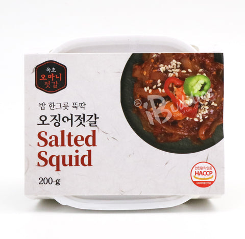 Korea Mama Spicy Squid / 韓國媽媽(辣)魷魚 (200g)