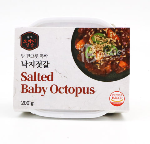 Korea Mama Spicy Octopus / 韓國媽媽(辣)八爪魚 (200g)