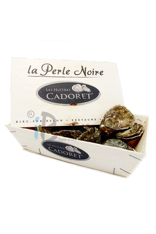 France Black Pearl Oyster No. 1/ 法國黑珍珠No. 1 生蠔12pcs