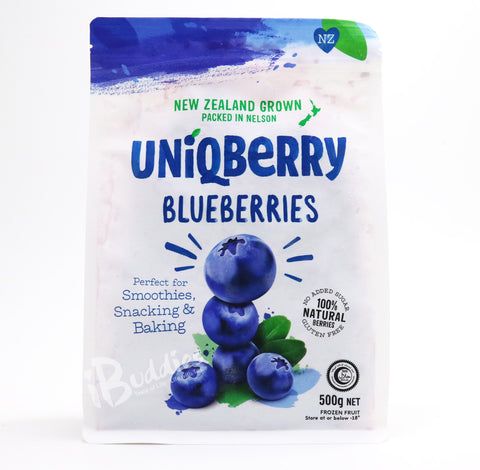 UniQBerry Frozen Blueberries/ 紐西蘭急凍藍莓