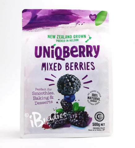 UniQBerry Frozen Mix Berries/ 紐西蘭急凍抗氧雜莓