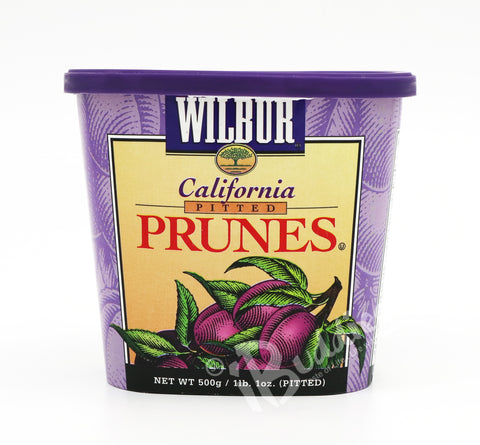 Wilbur California Dried Prunes (500g)
