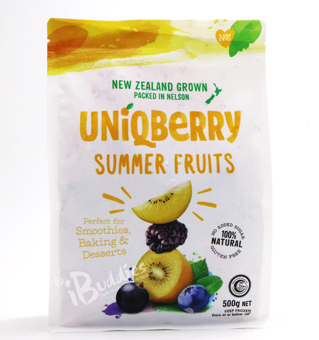 UniQBerry Frozen Summer Fruits Mix/ 紐西蘭急凍夏日水果
