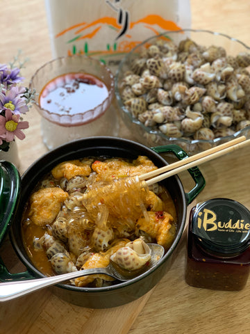 iBuddies Sea Snails in Spicy Wine Combo Set/ iBuddies 辣酒煮花螺套餐