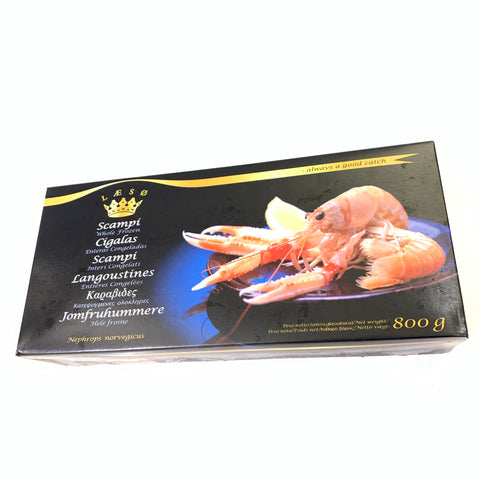 New Zealand Frozen Scampi / 新西蘭深海小龍蝦 (13-16pcs, 800g)