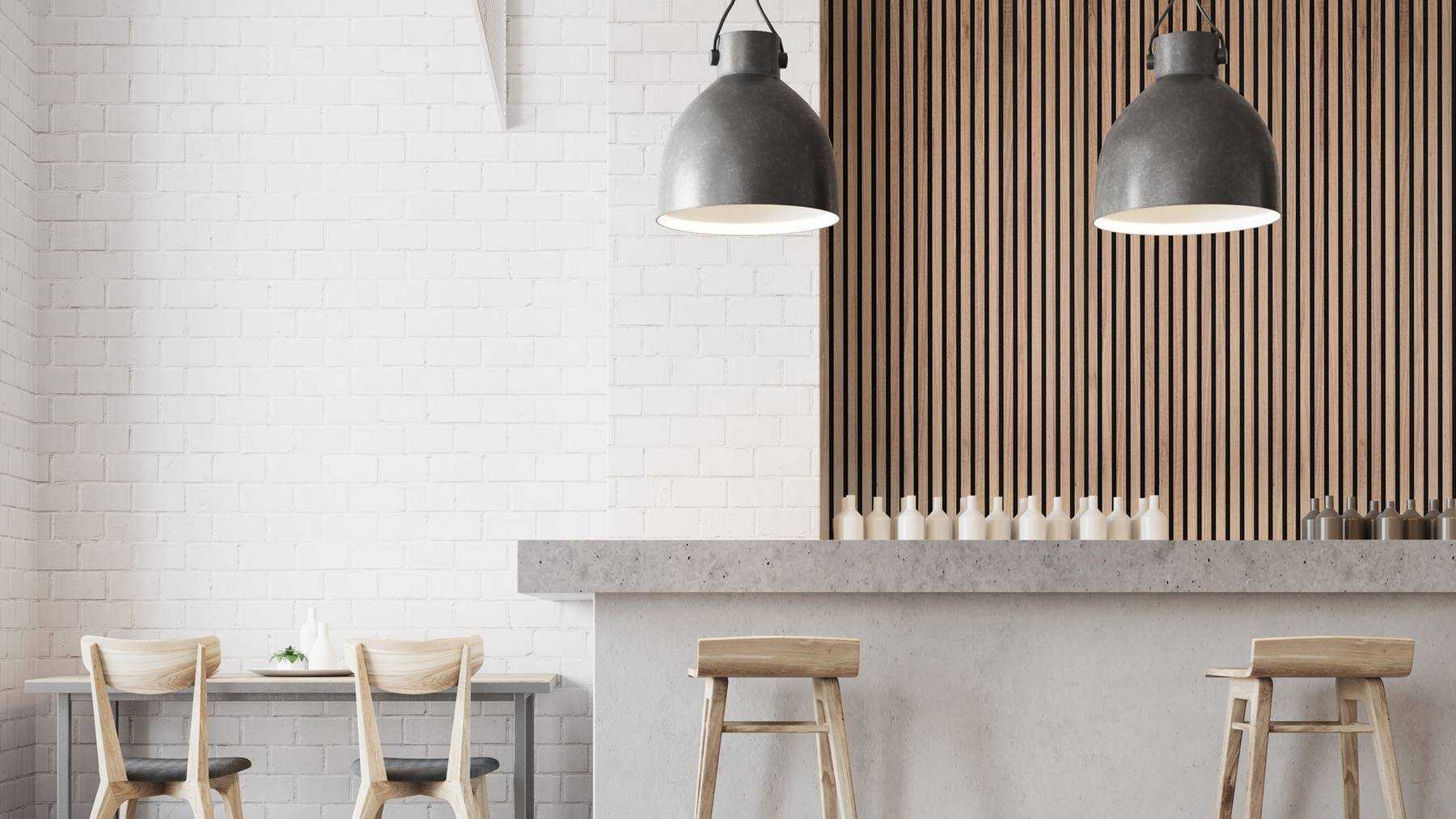 Inspirational ideas for using wood wall panelling in kitchens