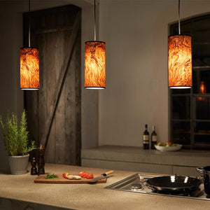 Wood Veneer Lighting