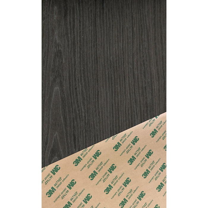 Fraxinus Black Ash Crown CubeFlex Pre-Finished PSA Peel and Stick Wood Veneer