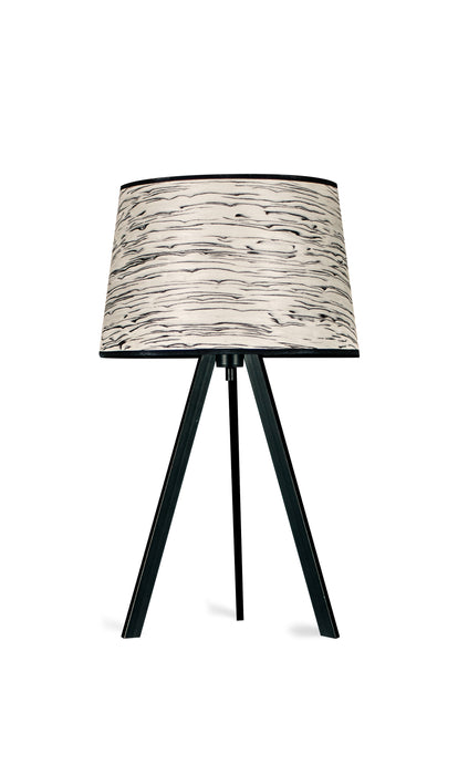 LeuchtNatur Attica Silver Birch Table Lamp