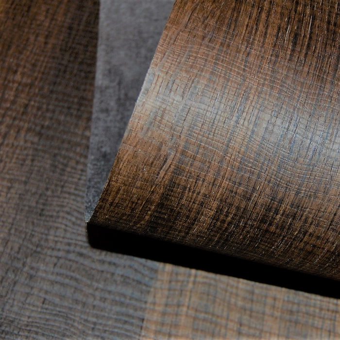 Wavy Chocolate Oak PSA Peel and Stick Wood Veneer