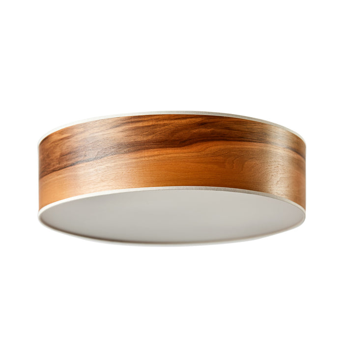 LeuchtNatur Disucs Ceiling European Walnut Ceiling Lamp