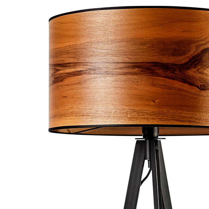 LeuchtNatur Atticus European Walnut Floor Lamp